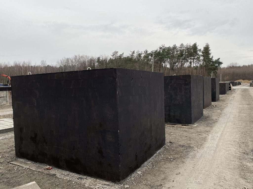 Levné betonové jímky - výroba